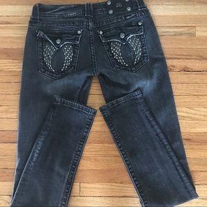 Miss Me Black wash jeans